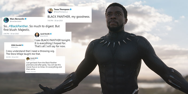 Black Panther tweets