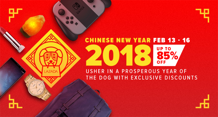Lazada Chinese New Year sale
