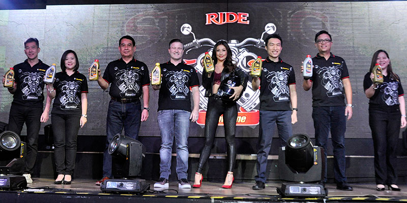 Caltex Havoline Ride Strong motorcycle and scooter engine oils