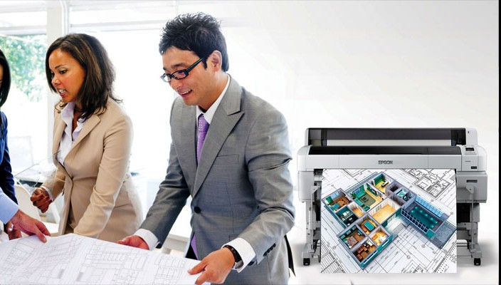 92a65d38 Epson launches new technical drawing printers