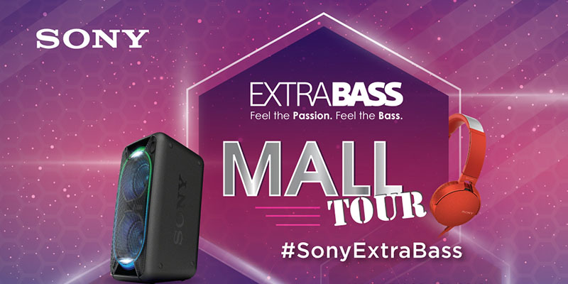 Sony Extra Bass Mall Tour