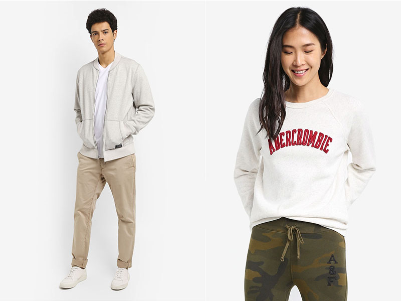 Abercrombie & Fitch available at Zalora