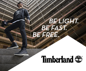 Timberland Be Light Be Fast Be Free