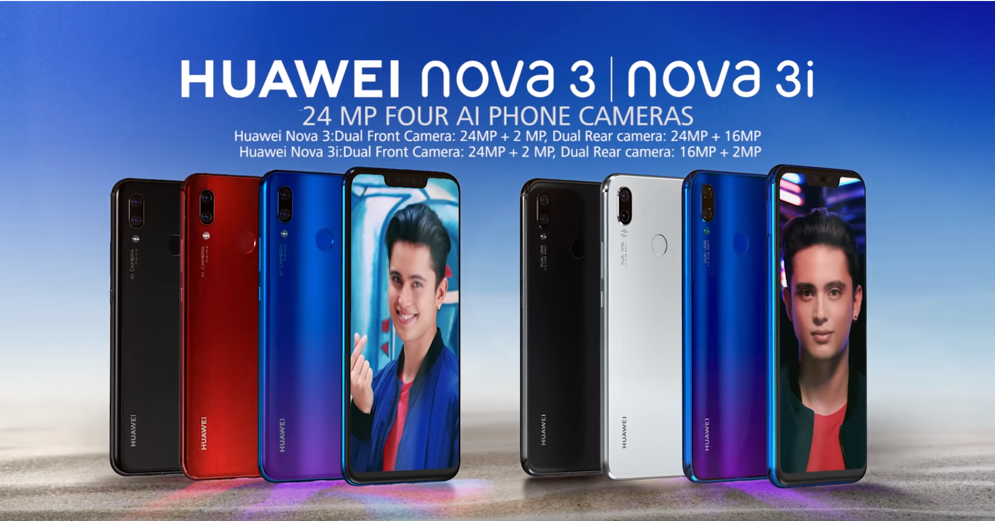 Special deals for Huawei Nova 3, 3i until August 31 - Speed