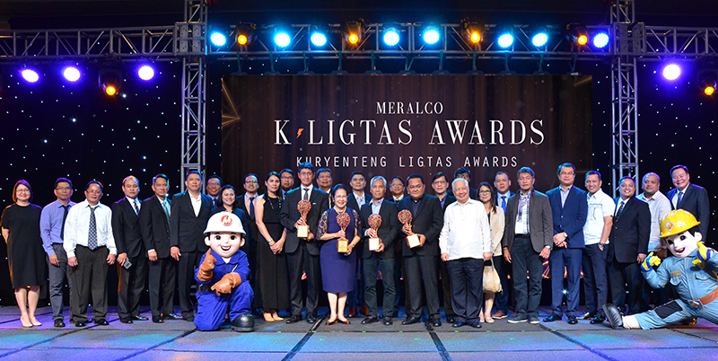 Meralco K-ligtas awards