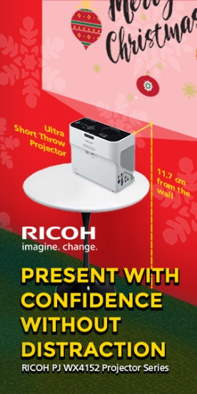 Ricoh PJ WX4152 projector series