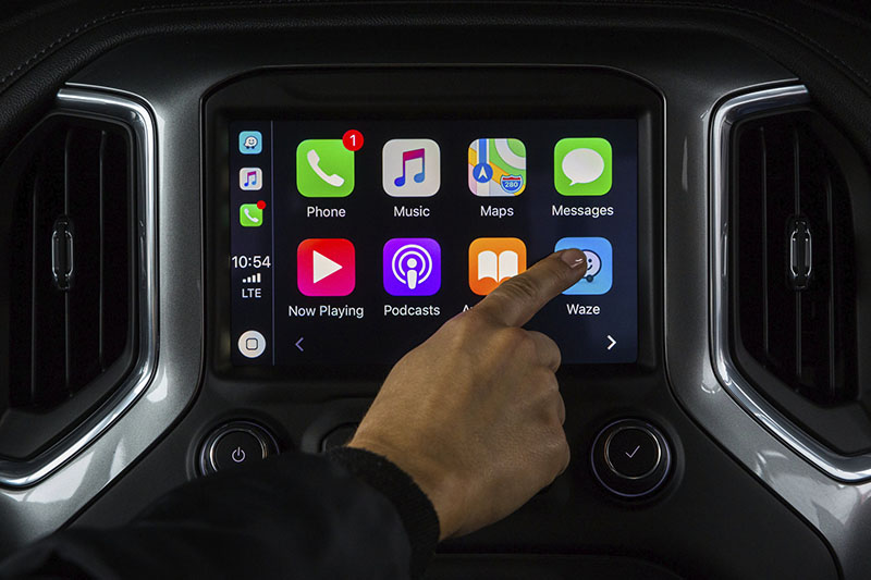 Waze Apple Carplay