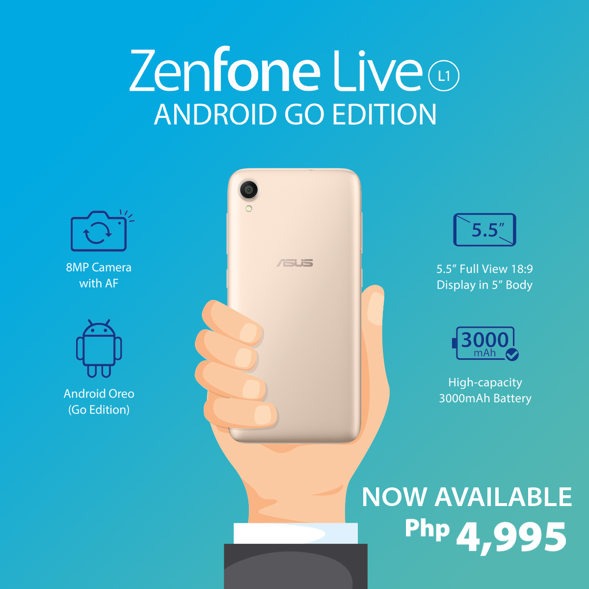 ZenFone Live L1 Android GO Edition