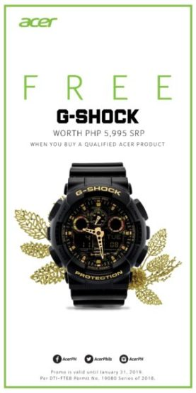 Acer x G-Shock extended