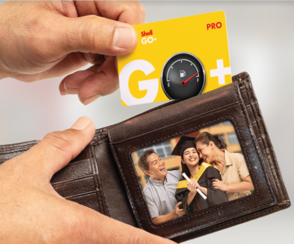 Shell GO+ card