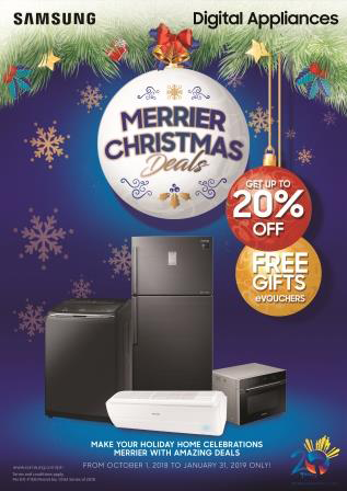 Samsung Merrier Christmas Deals