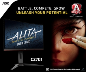 AOC Battle Angel Alita