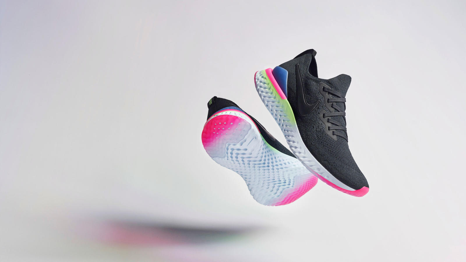 best website 0ba1b f6cd6 Get into the  90s tech world vibe with Nike Epic React Flyknit 2