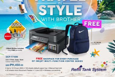 Brother Travel in Style summer promo