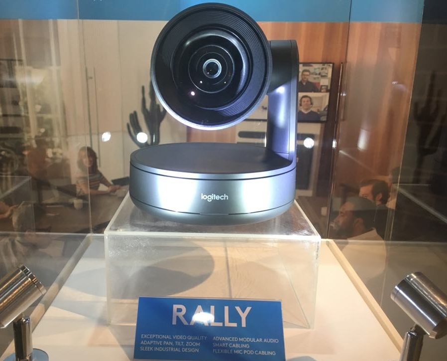 Logitech Rally system to make office spaces more inviting - Speed