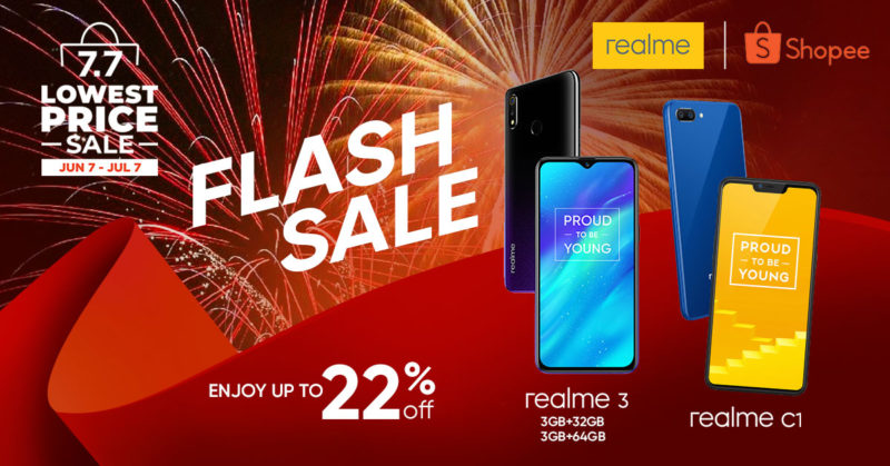 realme flash sale