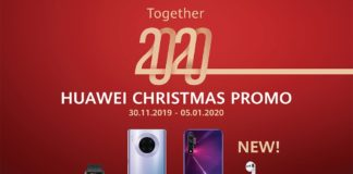 Huawei Christmas Promo Together 2020