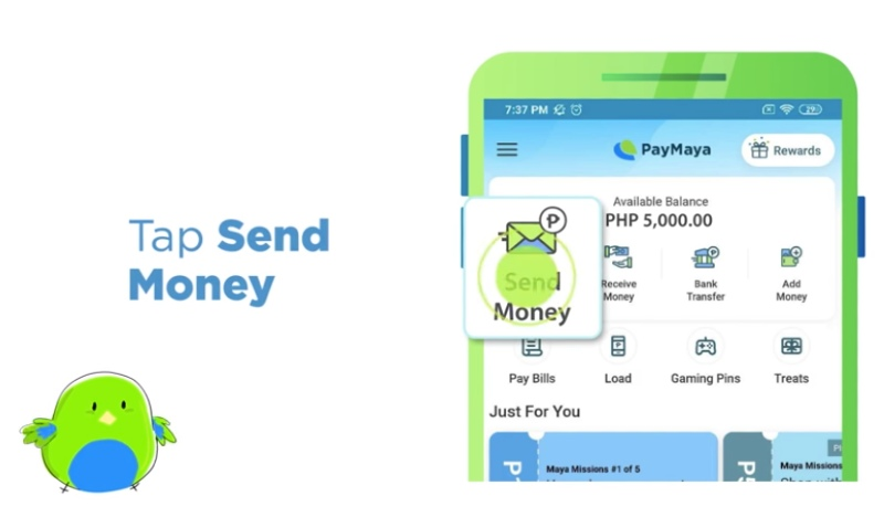 How To Add Money In Paymaya Using 7 11