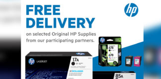 HP supplies free delivery