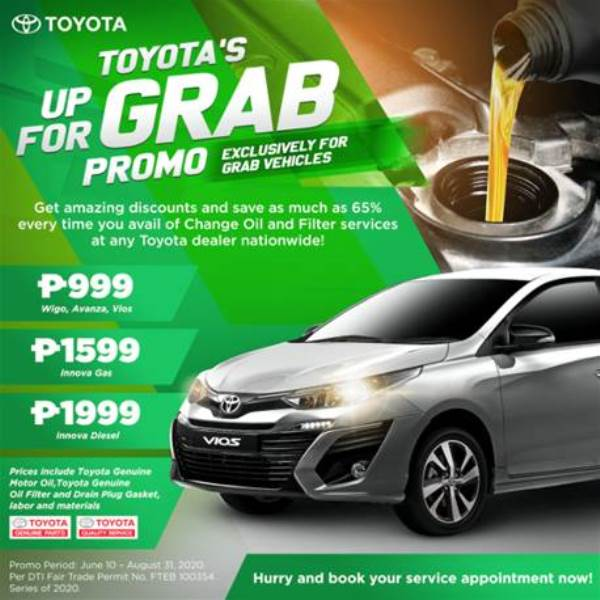 toyota up for grab