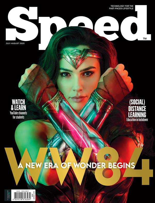 Speed July-August 2020 Wonder Woman 1984